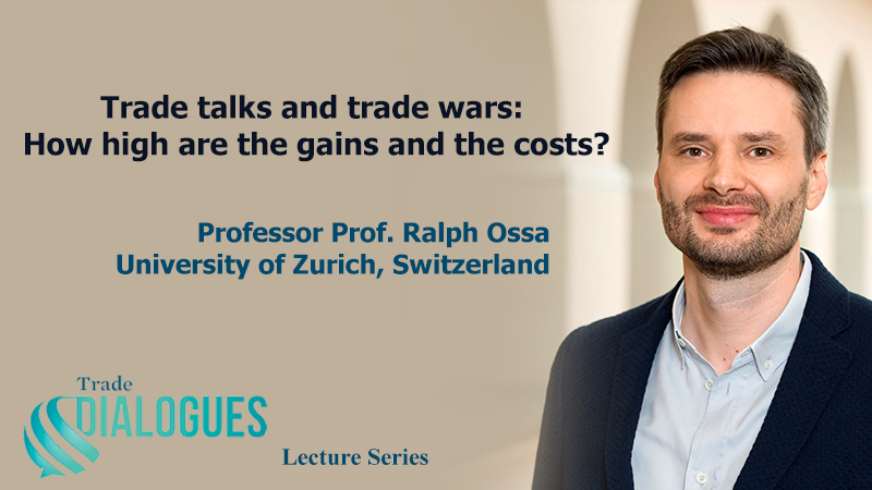 WTO lecture announcement Ralph Ossa