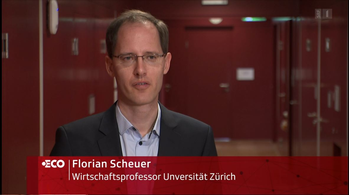 Florian Scheuer in Interview with SRF ECO
